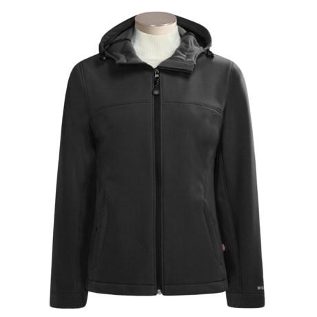 AFRC Skiwear Windstopper® Hooded Jacket - Soft Shell (For Women)
