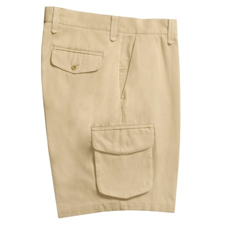 Nat Nast Rivera Cargo Shorts - Silk-Cotton (For Men)