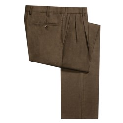 Incotex High-Comfort Wool Dress Pants - Pleated Front (For Men)