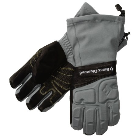 Black Diamond Equipment Ice Gloves - Schoeller® (For Men)