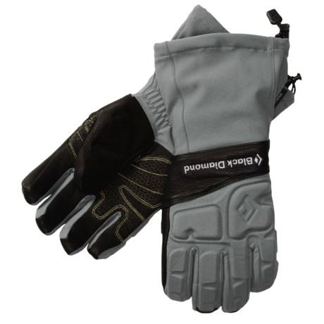Black Diamond Equipment Ice Gloves - Schoeller® (For Men)