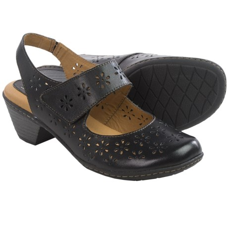 Softspots Safia Sling-Back Mary Jane Shoes - Leather (For Women)