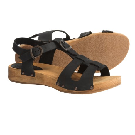 Sanita Wood Olise Low Flex Sandals - Leather (For Women)