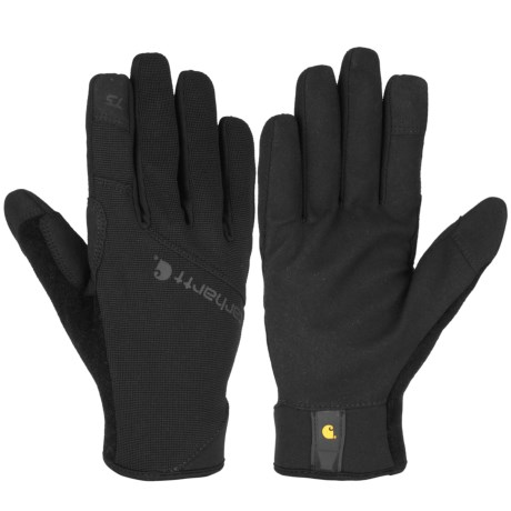 Carhartt Work Flex Touch Gloves - Touchscreen Compatible (For Men and Women)
