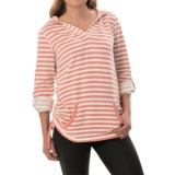 Marc New York Performance Fleece Striped Tunic Shirt - Long Sleeve (For Women)