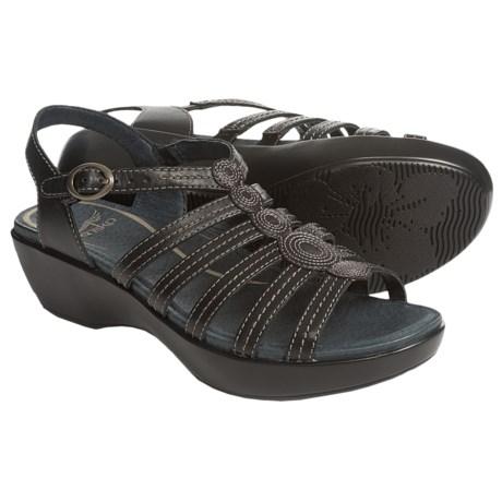 Dansko Drea Leather Sandals (For Women)