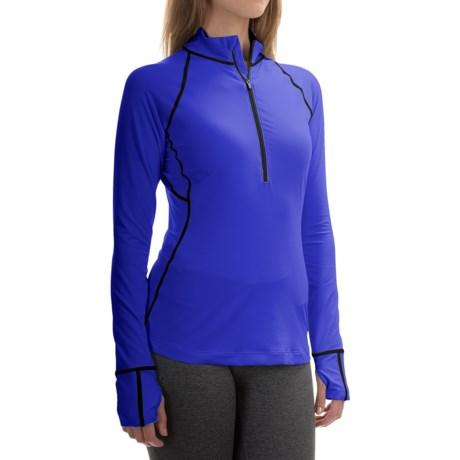 Mountain Hardwear Butterlicious Shirt - Zip Neck, Long Sleeve (For Women)