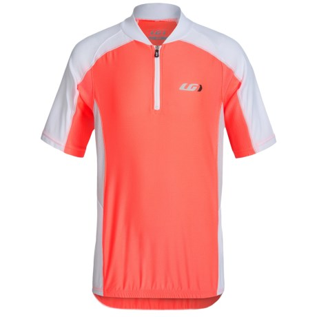 Louis Garneau Mistral Vent Cycling Jersey - UPF 50, Zip Neck, Short Sleeve (For Little and Big Kids)