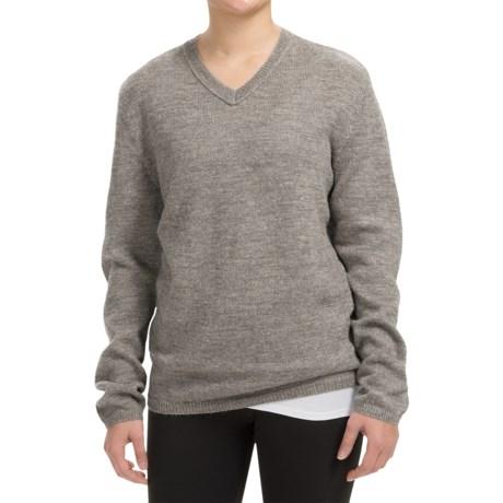Inhabit Alpaca-Blend V-Neck Sweater (For Women)