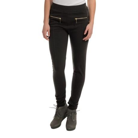 Trixi & Lulu Knit Leggings with Zip Pockets (For Women)
