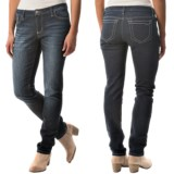 Flat-Front Jeans (For Women)