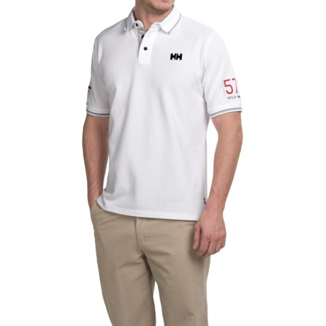 Helly Hansen Marstrand Polo Shirt - Short Sleeve (For Men)