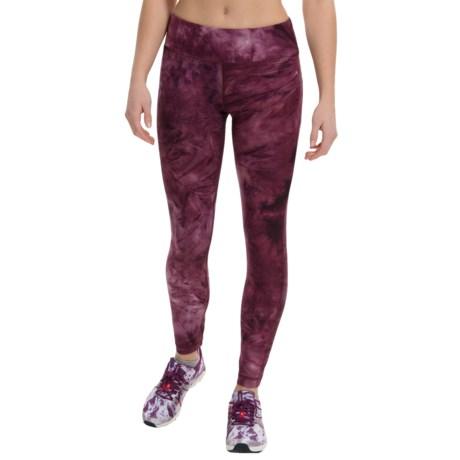 Tech Couture Tie-Dye Print Leggings (For Women)