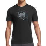 Icebreaker Tech Lite Basecamp Shirt - UPF 20+, Merino Wool Blend, Short Sleeve (For Men)