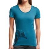 Icebreaker Tech Lite Easter Lily T-Shirt - UPF 20+, Merino Wool, Short Sleeve (For Women)