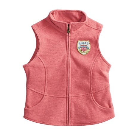 Ariat Pebble Fleece Vest (For Youth)