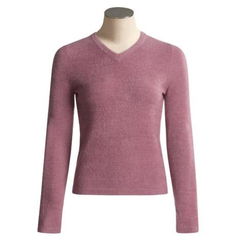ExOfficio Irresistible V-Neck Shirt - Long Sleeve (For Women)