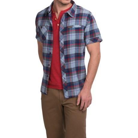 Hippytree Moab Flannel Shirt - Short Sleeve (For Men)