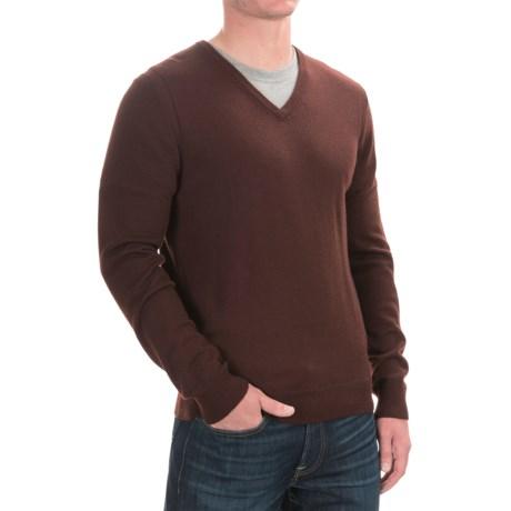 Cullen C89men Merino Wool Sweater - V-Neck (For Men)