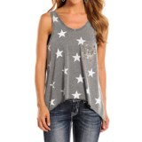Rock & Roll Cowgirl Stars Tank Top (For Women)