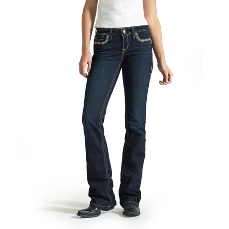 Ariat Turquoise Waterfall Jeans - Bootcut, Mid Rise (For Women)