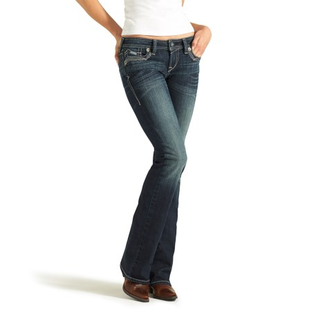 Ariat Ruby Frayed-Edge Jeans - Bootcut, Low Rise (For Women)