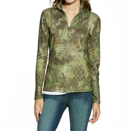 Ariat Kryptek® Mandrake Fleece Shirt - Zip Neck (For Women)