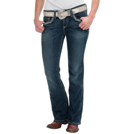 Ariat Turquoise Silversmith Jeans - Bootcut, Mid Rise (For Women)