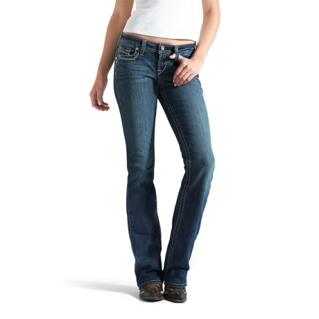 Ariat Ruby 3D A Jeans - Low Rise, Bootcut (For Women)