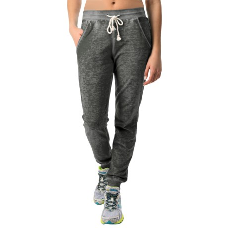 Pink Lotus Globe Trotter Joggers (For Women)