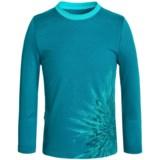 Icebreaker Tech Chrysanthenum Shirt - Merino Wool, Long Sleeve (For Little and Big Kids)
