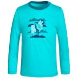 Icebreaker Tech Crewe Shirt - Merino Wool, Long Sleeve (For Little and Big Kids)