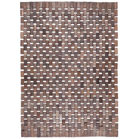 """Entryways Roosevelt Exotic Wood Mat - 18x30"""""""