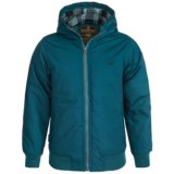 Element Dulcey Hooded Jacket - Insulated (For Little and Big Boys)