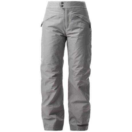 White Sierra Slider Ski Pants - Insulated, (For Women)