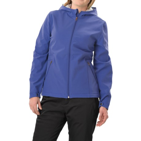 White Sierra Full Moon Soft Shell Jacket (For Women)