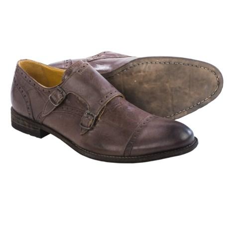Blackstone Abram Double Monk Strap Shoes - Leather (For Men)