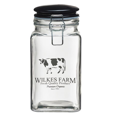 Global Amici Carolina Wilkes Glass Storage Jar - 52 oz.