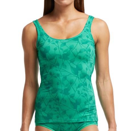 Icebreaker BodyFit 150 Siren Photo Flower Tank Top - UPF 30+, Merino Wool (For Women)