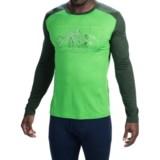 Icebreaker BodyFit 200 Oasis Aoraki Base Layer Top - UPF 30+, Merino Wool, Long Sleeve (For Men)