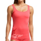 Icebreaker Siren Cherry Blossom Tank Top - Merino Wool, UPF 30+ (For Women)