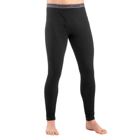 Icebreaker BodyFit 150 Anatomica Base Layer Bottoms - UPF 30+, Merino Wool (For Men)