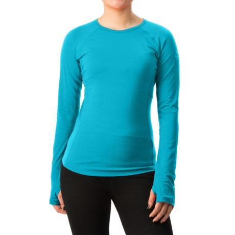 Icebreaker BodyFit 200 Zone Shirt - Merino Wool, Long Sleeve (For Women)