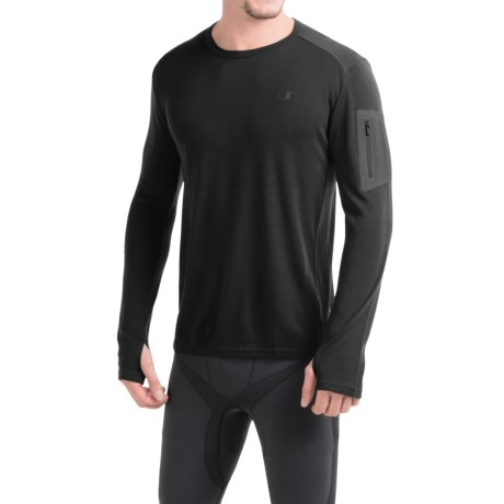Icebreaker BodyFit 260 Apex Shirt - UPF 30+, Merino Wool, Long Sleeve (For Men)