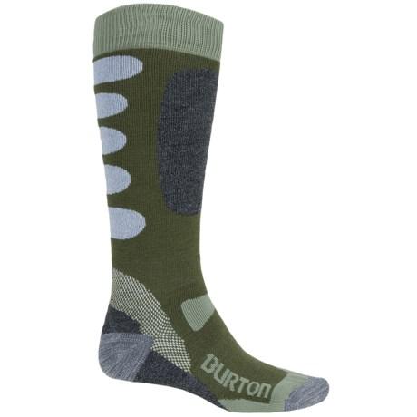 Burton Buffer II Snowboard Socks - Over the Calf (For Men)