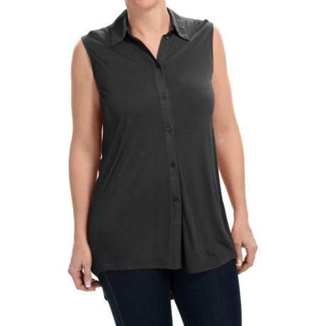 Rayon Knit Shirt - Sleeveless (For Women)