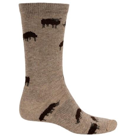 Woolrich Grazing Sheep Socks - Crew (For Men)