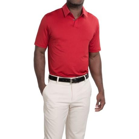 adidas golf UV Elements Tonal Stripe Polo Shirt - UPF 50+, Short Sleeve (For Men)
