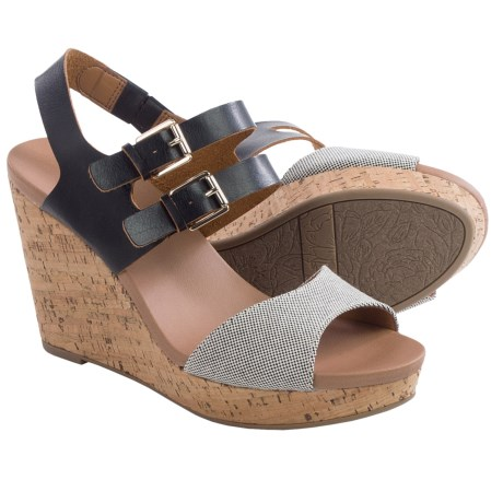Dr. Scholl's Mashup Wedge Sandals - Vegan Leather (For Women)