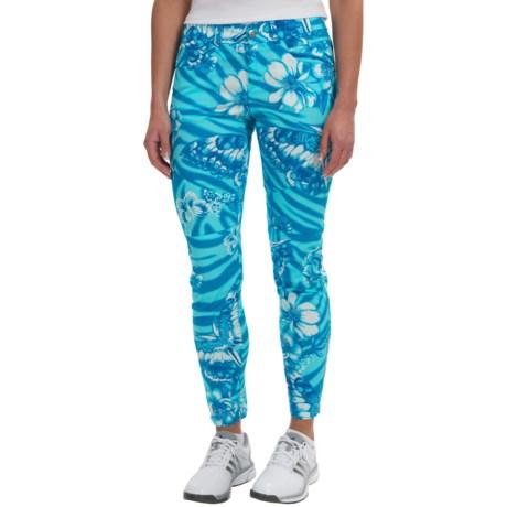 Bogner Yvon-G Crop Golf Pants - Slim Fit (For Women)
